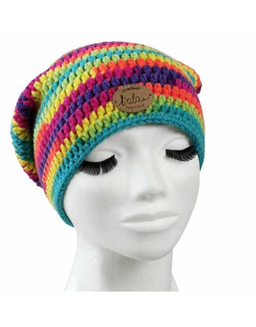 Czapka zimowa - rainbow